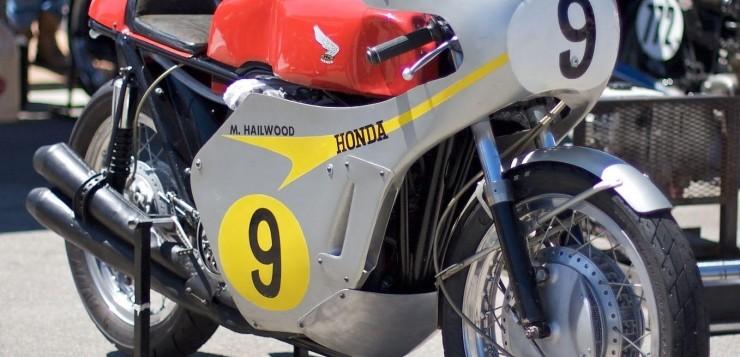 Honda RC 181 und Mike Hailwood