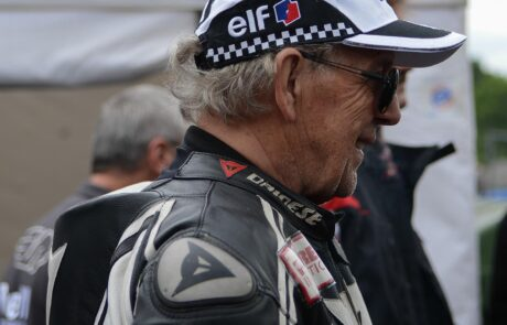 Motorrad-Weltmeister beim Schottenring Classic GP 2014