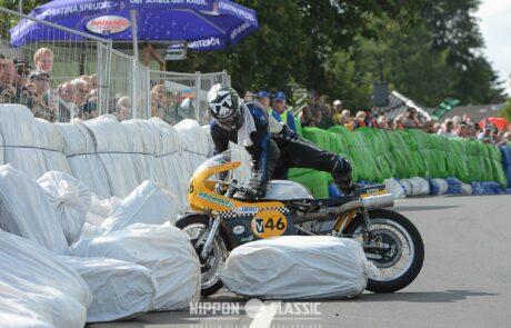 Der Schottenring wurde für machen Fahrer zur Herausforderung