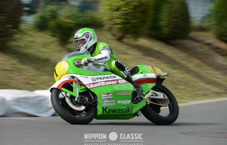 Der Star beim Schottenring Classic GP: Kork Ballington