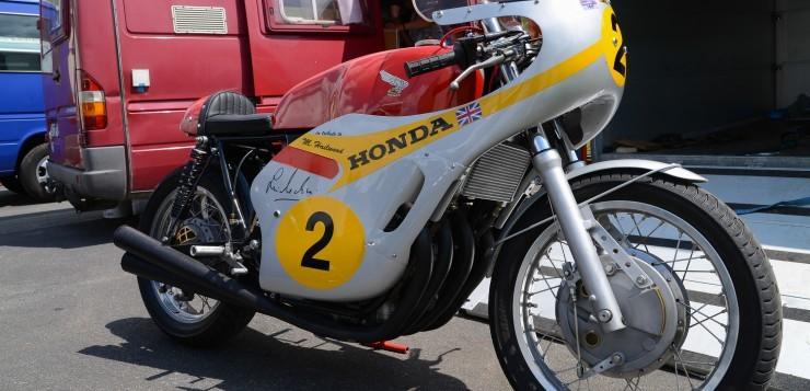 Mike Hailwood und Honda