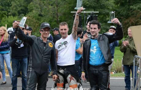 Glemseck 101 Siegertrio: Thomas Thöring (Mitte), Sylvain Berneron (rechts) und Sèbastien Lorentz (links)