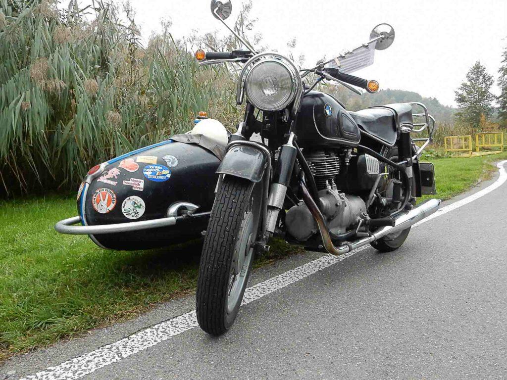 Gretel Jacobis BMW R27-Gespann ist noch im Erstbesitz