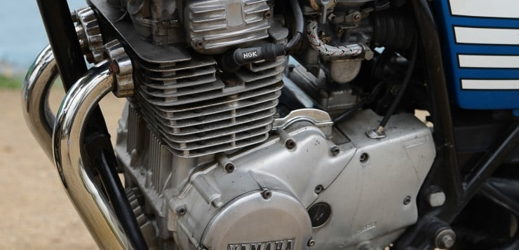 Yamaha XS 360 Motor