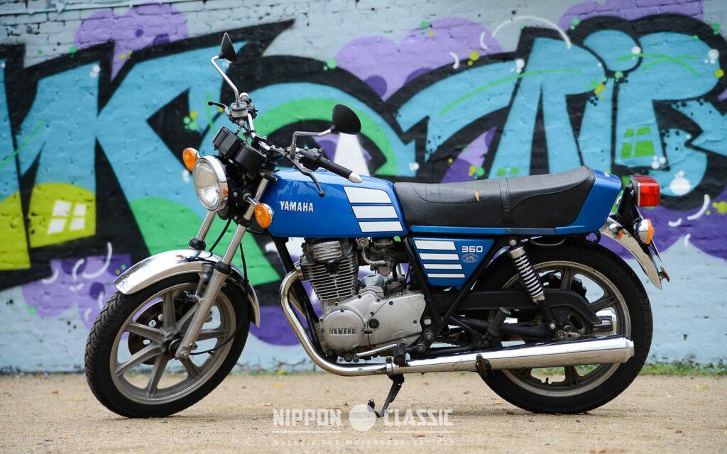 Die Yamaha XS 360 war in der 27-PS Klasse ein Bestseller
