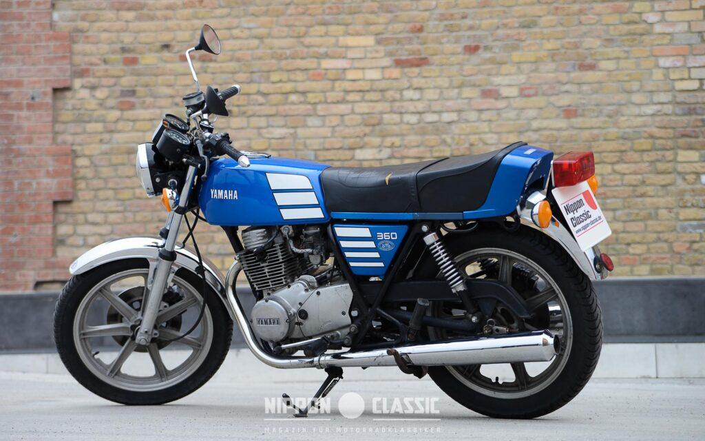 Die Yamaha XS 360 bietet ein sehr gutes Handling