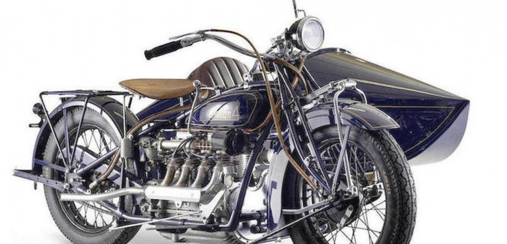 Motorrad-Oldtimer: Indian Model 402 (1930)
