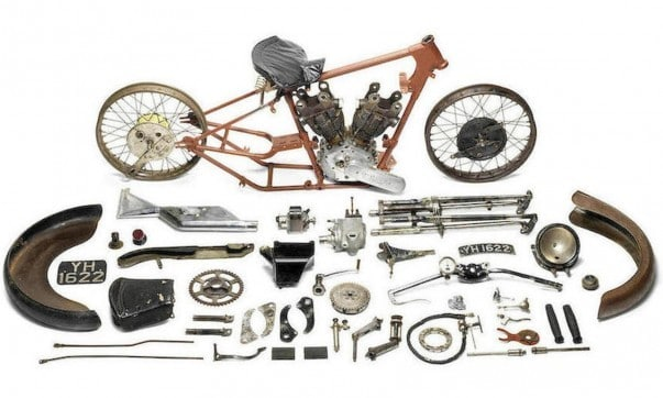Brough Superior SS 100 Alpine Grand Sport Project (1927)