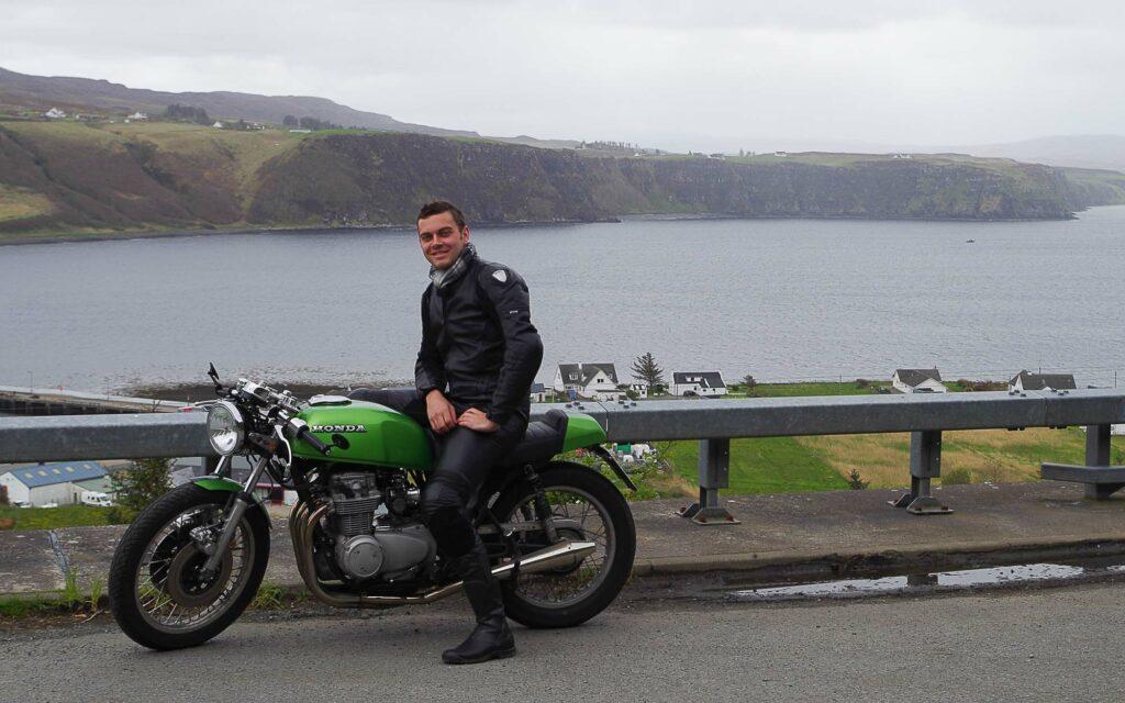 Auf meinem Schottland-Trip schnurrte meine Honda wie ein Kätzchen
