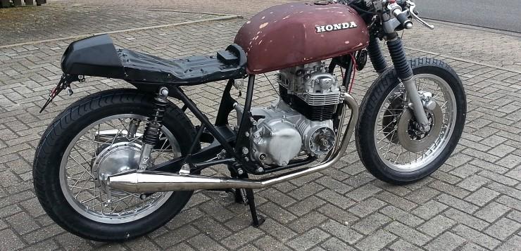 Mein Honda CB 550 Cafe Racer