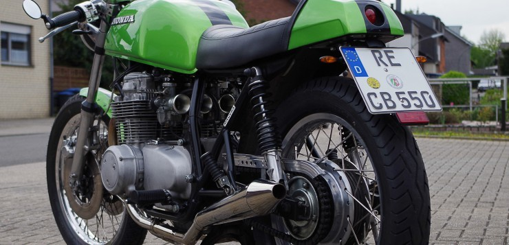 CB 550 Four Cafe Racer