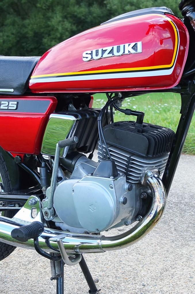 Suzuki GP 125 Motor