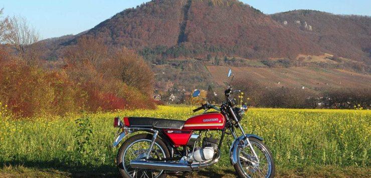Suzuki GP 125 – Quirlige Krawallbüchse