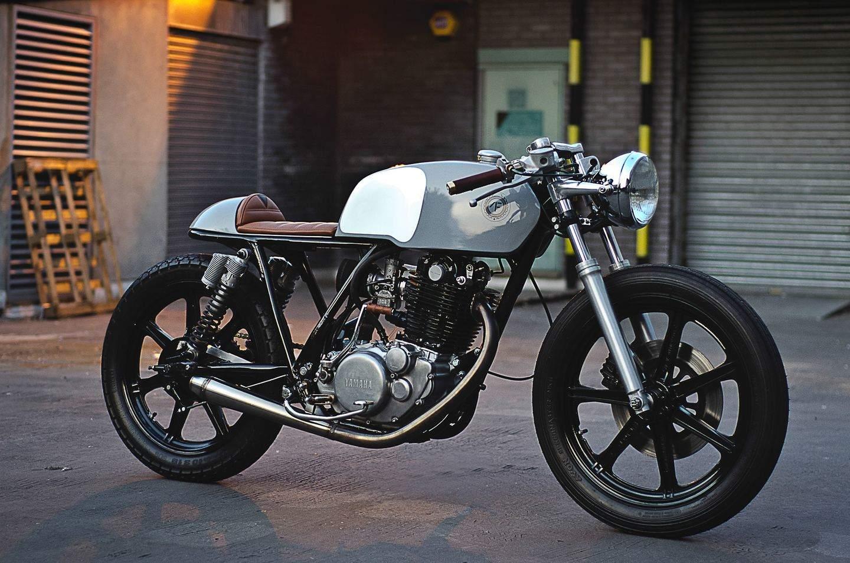 Yamaha Tx  Cafe Racer