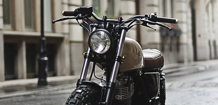 Die Scrambler-Interpretation besticht in Sachen Design ...