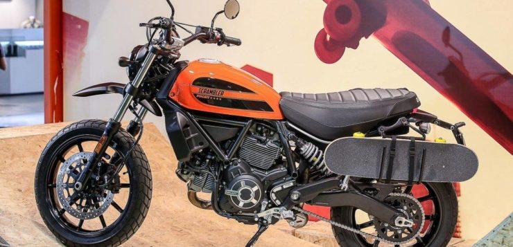 "Fünfte Ducati Scrambler Version: ""Sixty2"""