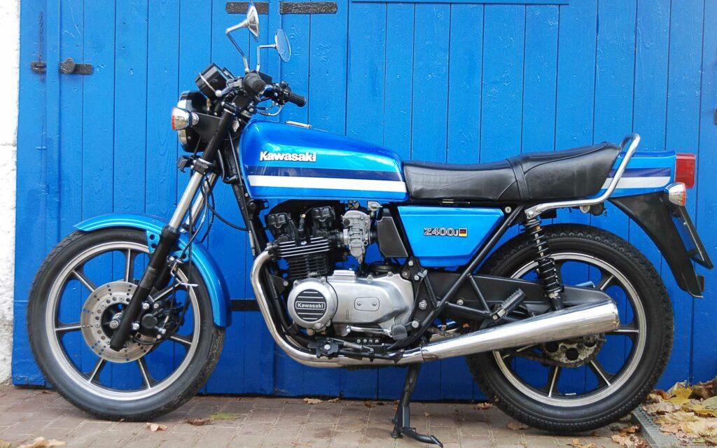 Die 35 Jahre sieht man der Kawasaki Z 400J fast nicht an