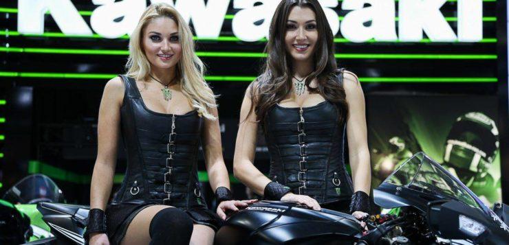 Was wären Motorräder ohne Models?