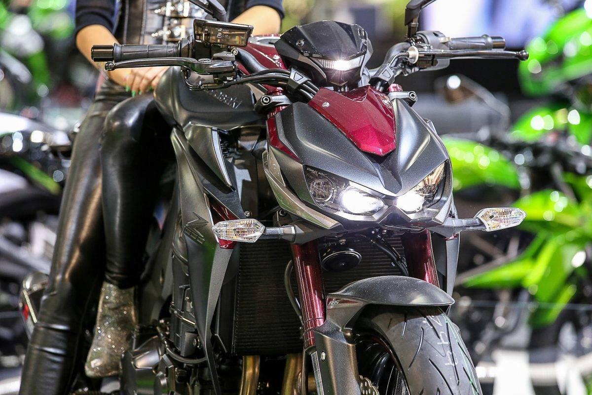 furchteinflössende Ausstrahlung: Kawasaki Z 1000