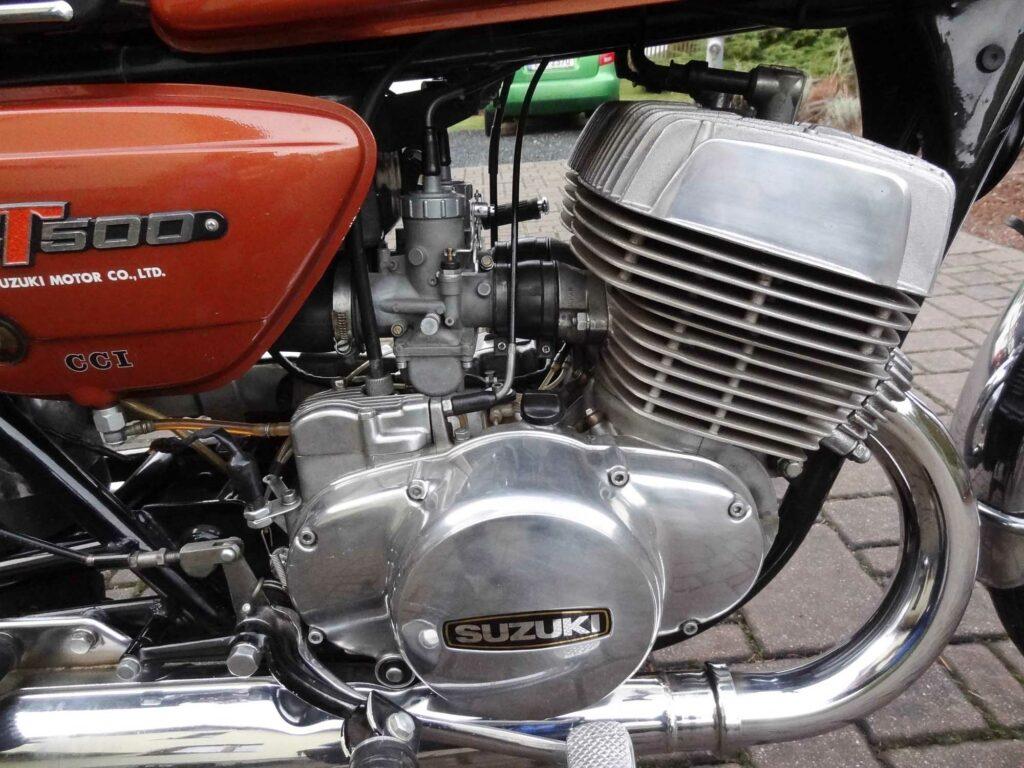 Der GT 500 Motor wurde in seine Einzelteile zerlegt