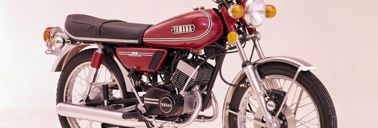 Yamaha RD 125 (1973 – 1978) – Reit' den Gepard