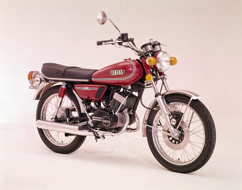 Yamaha rd 125 1973 1978 reit den gepard for Yamaha suzuki of texas