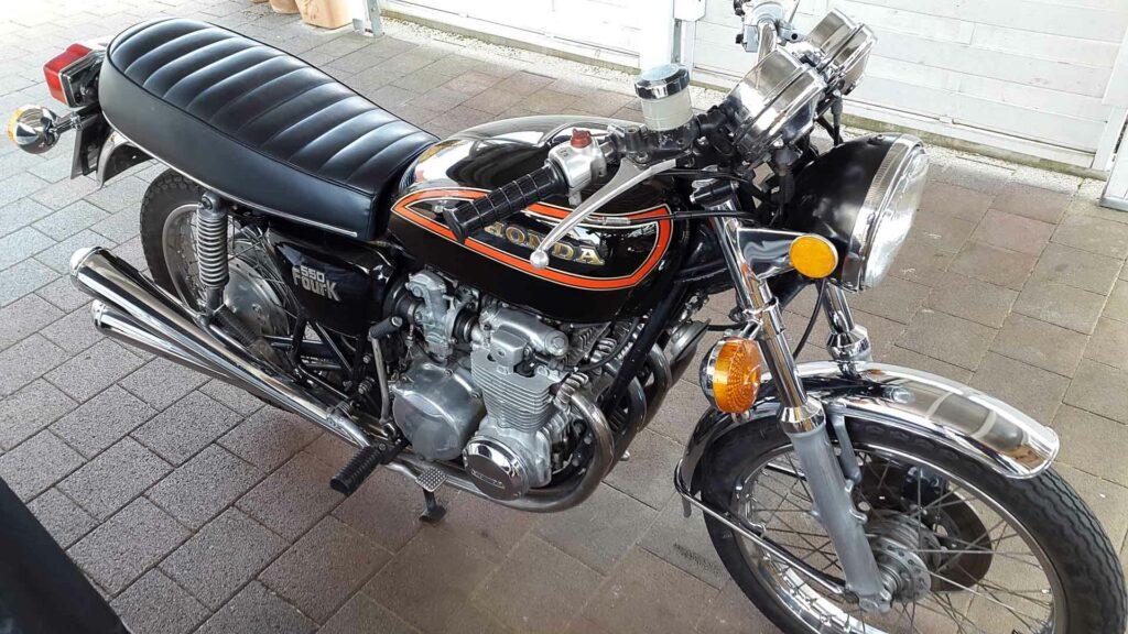 Meine Honda CB 550 K3 im April 2015