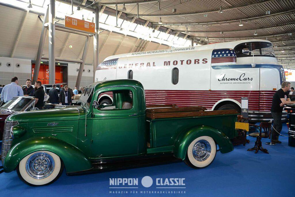 Von GM waren etliche Oldtimer auf der Retro-Classics zu bestaunen