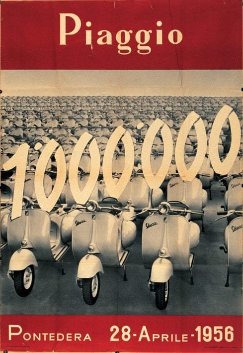 1 Million Vespa-Roller