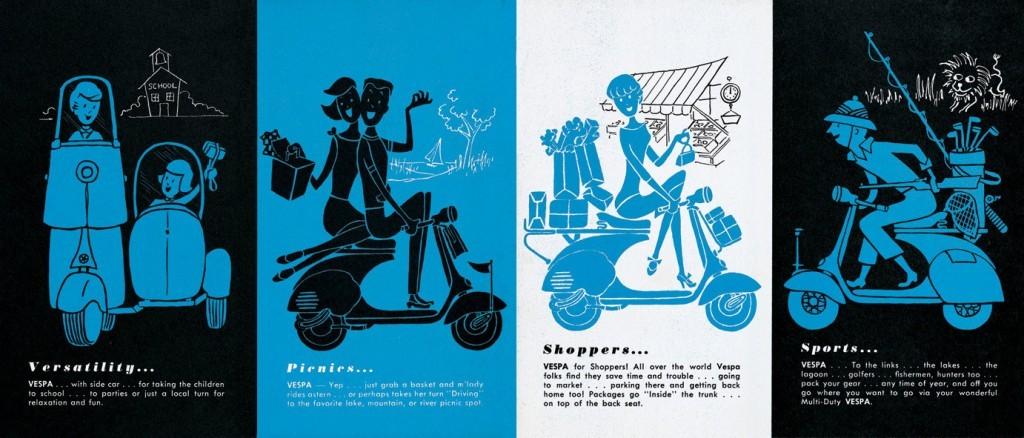 Vespa Broschüre