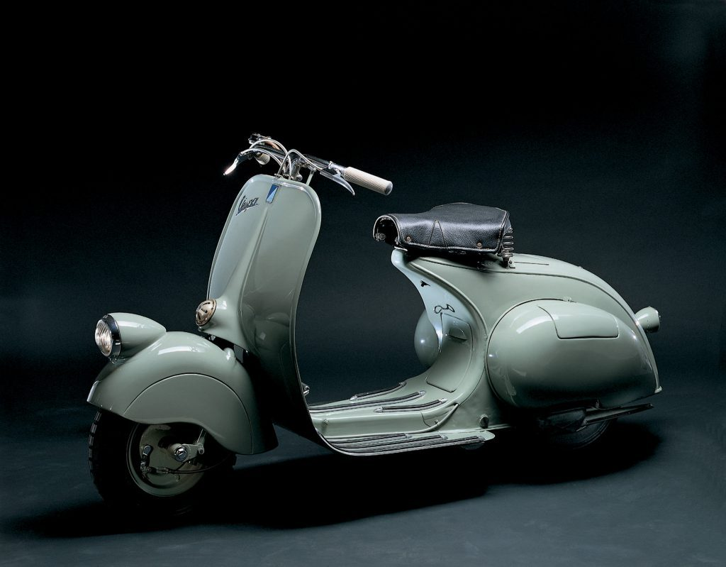 "Vespa ""MP 6"" von 1946"