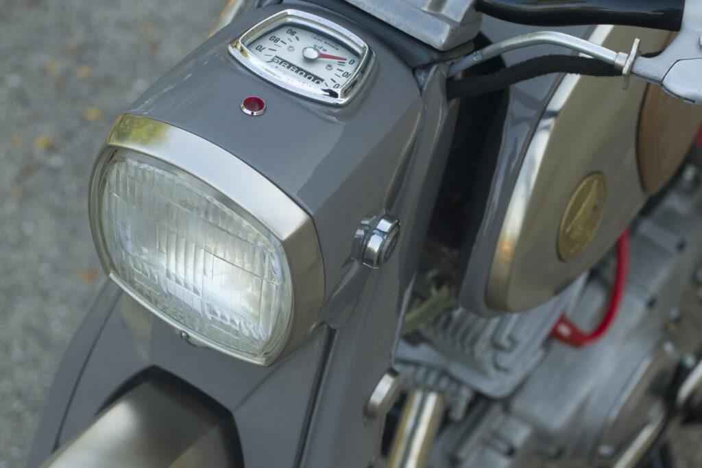 Honda CA95 Schweinwerfer
