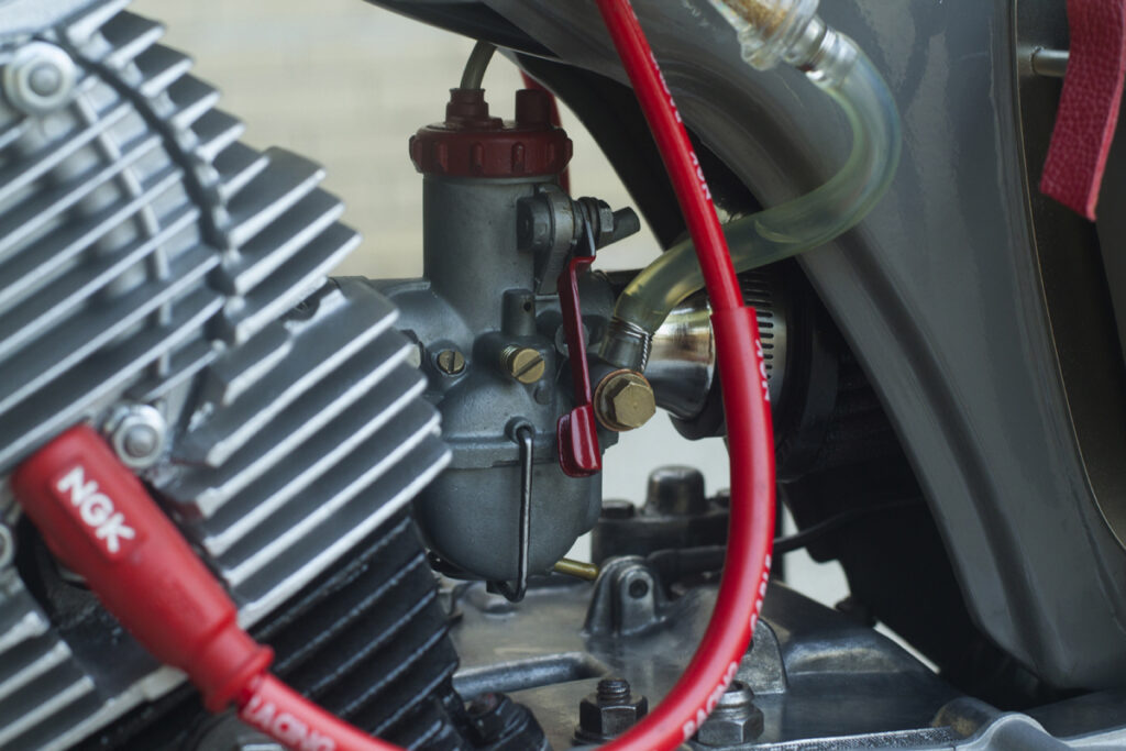 Moto-Mucci setzte geschickt kleine Akzente an der Honda CA95