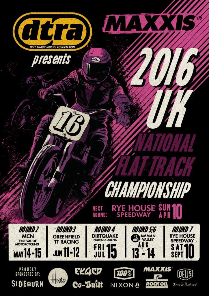 DTRA Flattrack Championship 2016
