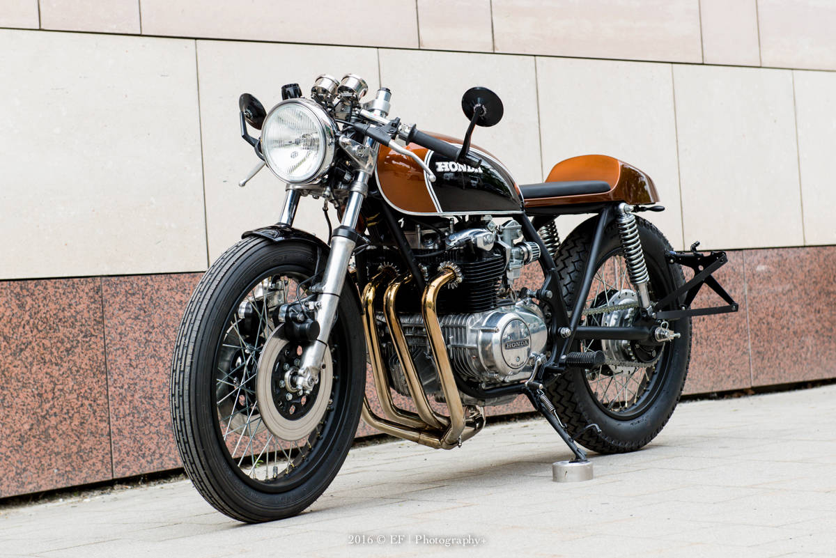 Suzuki Gs Cafe Racer Kit