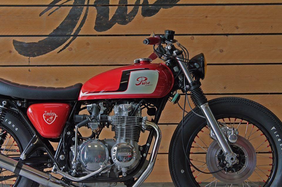 Pflichtprogramm bei Pure Motorcycles ist die gekürzte Telegabel