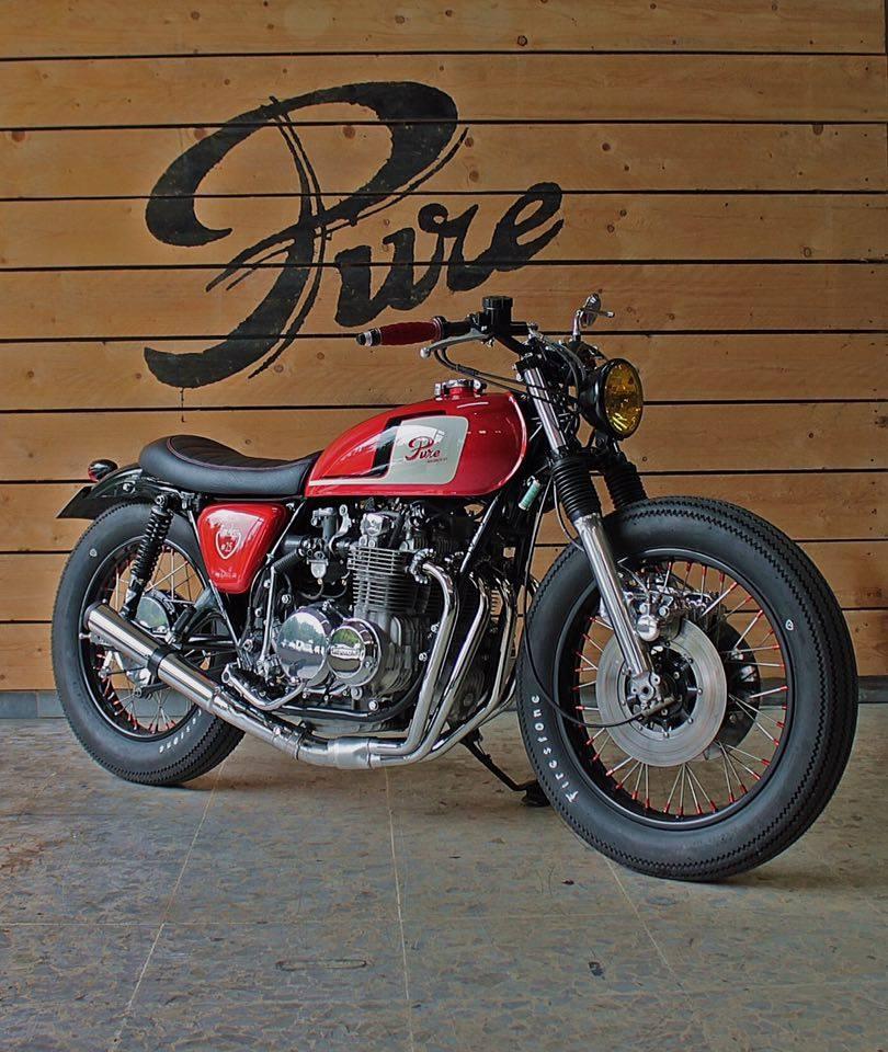 Einmalig: Honda CB 500 Brat Style von Pure Motorcycles
