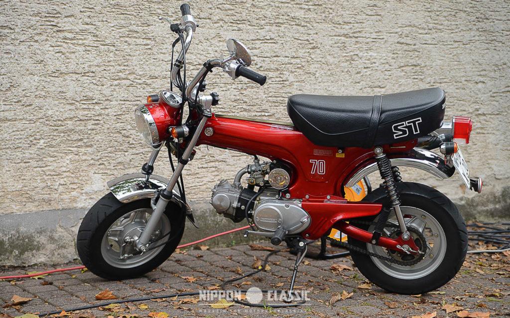 Für mehr Power: Honda Dax ST 70