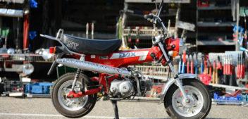 Honda Dax – Motorrad für die Westentasche