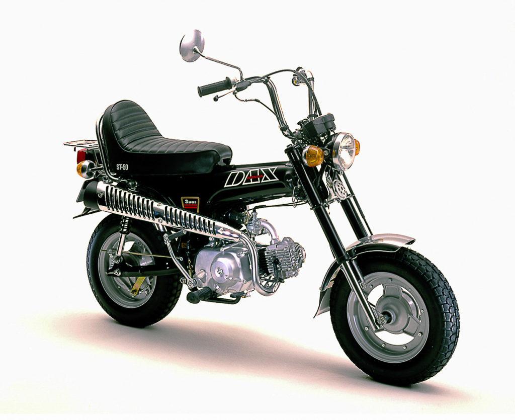 Honda Dax ST 50-C im Chopper-Style