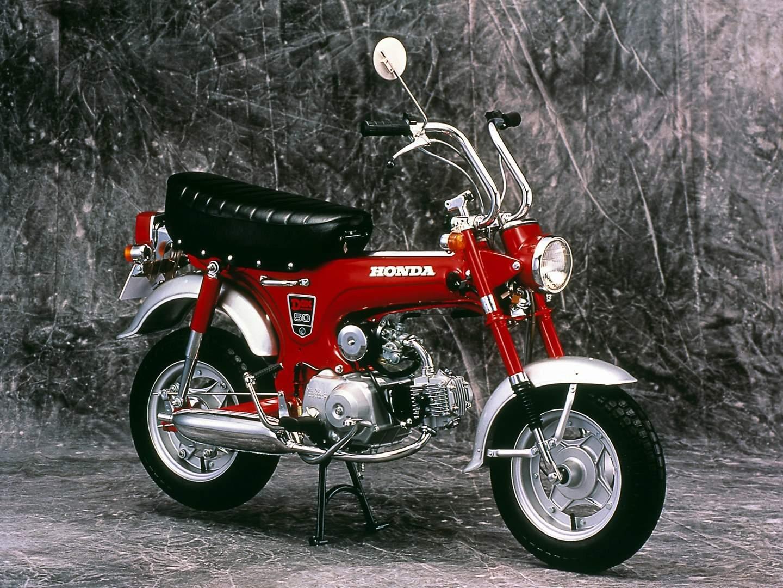 Honda Dax 1969 1999 Motorrad Fr Die Westentasche 1970 Cb 90 Motorcycle 1969er St 50 Mit Tiefem Auspuff Quelle Motor Co