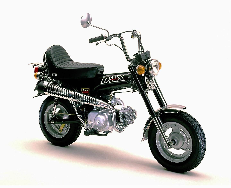 Beliebt Honda Dax (1969-1999) – Motorrad für die Westentasche UN46