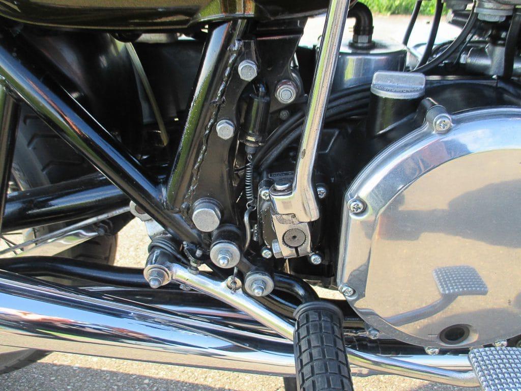 Bremslichtschalter der Kawasaki Z1 900