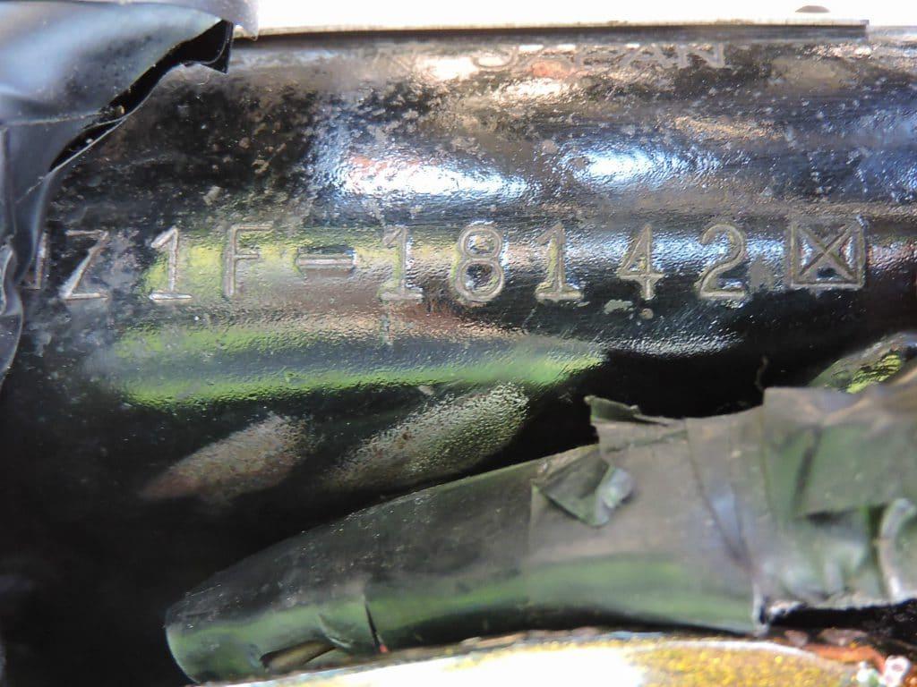 Kawasaki Z1 900 Rahmen