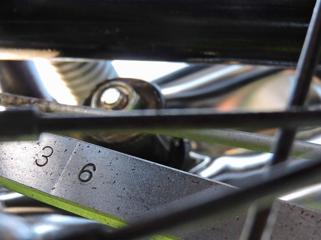 Kawasaki Z1 900 Bremsankerplatte