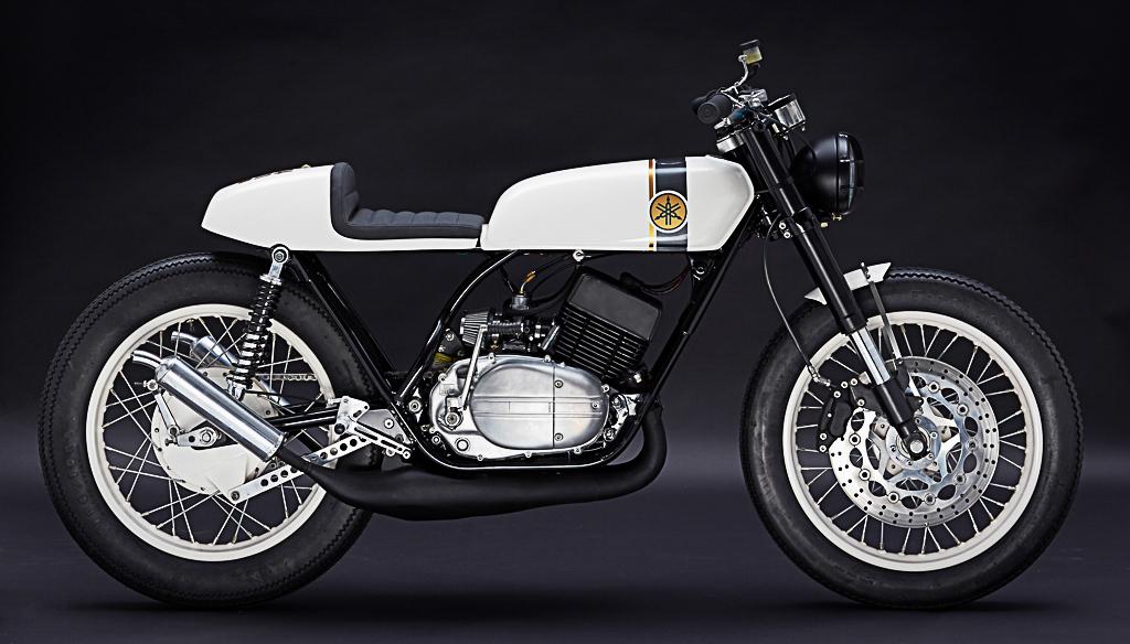 Die Yamaha RD 250 von Patrick Sauter besticht durch Klarheit