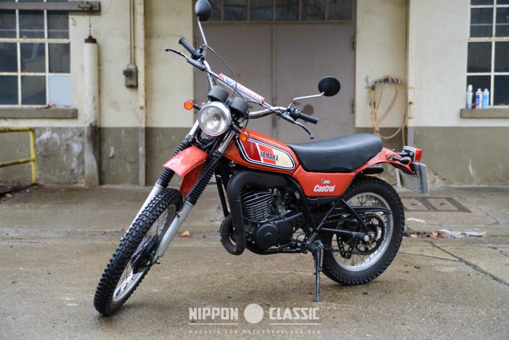 Die Yamaha DT 250 MX kam 1977 als Neuauflage