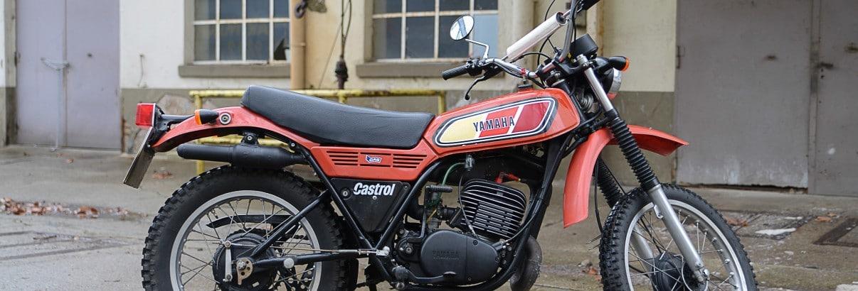 Yamaha DT 250 MX – Mit 16 PS im Aufwind