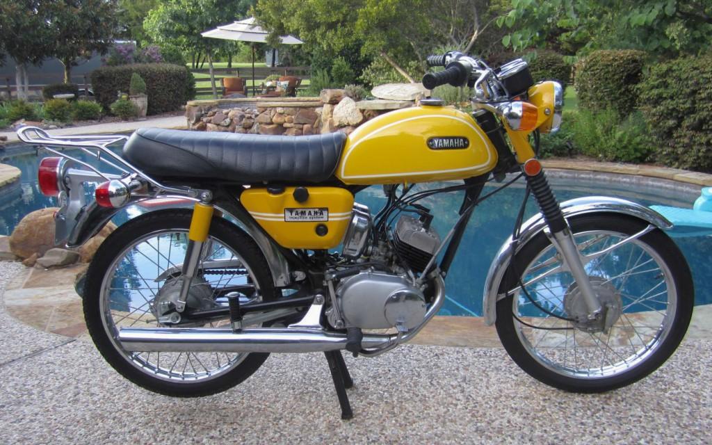 Eine der letzten Yamaha HS1 von 1971