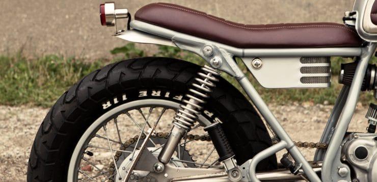 Yamaha SR 250 Brat Style